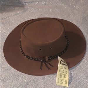 Australian made leather hat